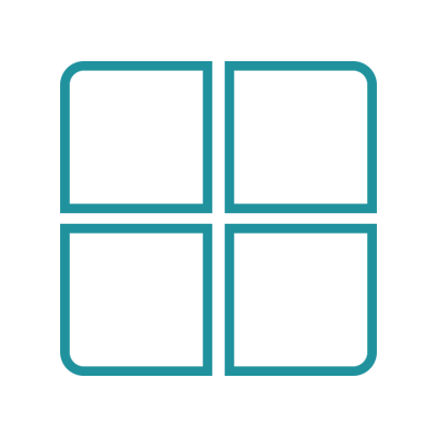 Microsoft logo blue-transparent